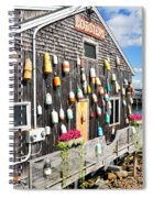 Bar Harbor Restaurant Spiral Notebook