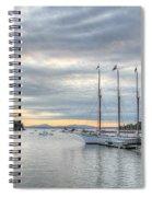 Bar Harbor Sunrise Spiral Notebook