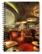 Bar Lounge Spiral Notebook