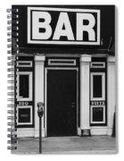 Bar Spiral Notebook