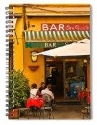 Bar San Giusto Spiral Notebook