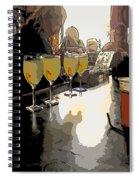 Bar Scene - Absinthe At Pirates Alley Spiral Notebook