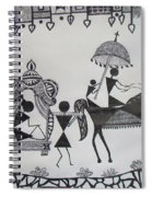 Baraat - The Wedding Procession Spiral Notebook