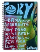 Barack And Fifty Cent Spiral Notebook
