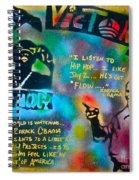 Barack And Jay Z Spiral Notebook