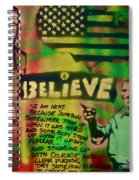 Barack And Martin And Malcolm Spiral Notebook