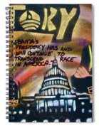 Barack And Russell Simmons Spiral Notebook