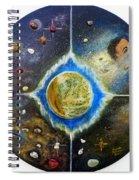 Barack Obama Painting Spiral Notebook