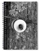 Barb Wire Insulator 3 Spiral Notebook