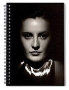 Barbara Stanwyck Early In Her Career C.1933-2014 Spiral Notebook