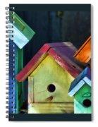 Barbara's Birdhouses Spiral Notebook