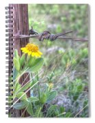 Barbed Beauty Spiral Notebook