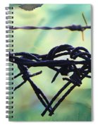 Barbed Wire Love-jealousy 2 Spiral Notebook