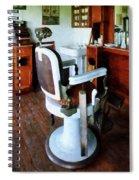 Barber - Barber Chair And Cash Register Spiral Notebook