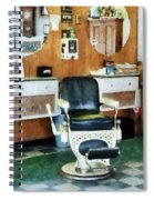 Barber - Barber Shop One Chair Spiral Notebook