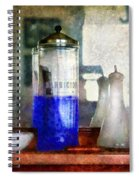 Barber - Blueberry Flavored Thanks For Asking Spiral Notebook
