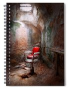 Barber - Eastern State Penitentiary - Remembering My Last Haircut  Spiral Notebook