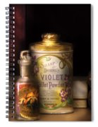 Barber -  Sharp And Dohmes Violet Toilet Powder  Spiral Notebook
