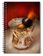 Barber - Shaving - The Beauty Of Barbering Spiral Notebook