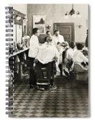 Barber Shop, 1920 Spiral Notebook
