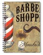 Barber Shoppe 1 Spiral Notebook