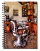 Barber - The Barber Chair Spiral Notebook