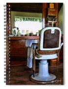 Barber - The Barber Shop Spiral Notebook