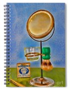 Barber - The Shaving Mirror Spiral Notebook