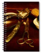 Barber - Things In A Barber Shop Spiral Notebook
