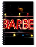 Barber This Way Spiral Notebook