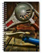 Barber - Vintage Hair Care Spiral Notebook
