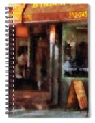 Barber - West Village Barber Shop Spiral Notebook