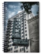 Barbers Book Store Spiral Notebook