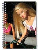 Barbie Escapes Spiral Notebook