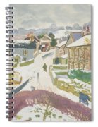 Barbon In The Snow Spiral Notebook