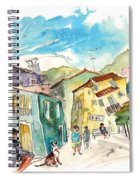 Barca De Alva Houses 01 Spiral Notebook