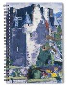 Barcaldine Castle Spiral Notebook