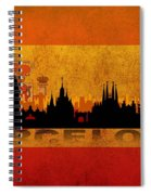 Barcelona City Spiral Notebook