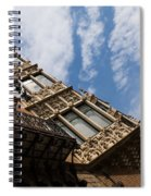 Barcelona's Marvelous Architecture - Avenue Diagonal Facade Spiral Notebook