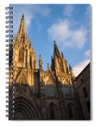 Barcelona's Marvelous Architecture - Cathedral Of The Holy Cross And Saint Eulalia Spiral Notebook