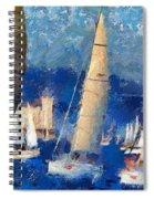 Barcolana 2013 Spiral Notebook