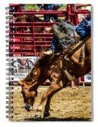 Bareback Riding Spiral Notebook