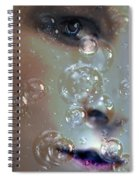 Barely Breathing By Lesa Fine Spiral Notebook