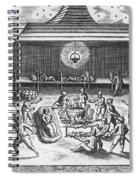 Barents Expedition Wintering In Arctic Spiral Notebook