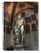 Giambologna's Oceano Spiral Notebook