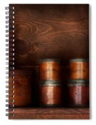 Barista - Coffee - Coffee And Spice Spiral Notebook