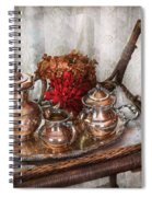 Barista - Tea Set - Morning Tea  Spiral Notebook