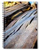 Bark Texture Spiral Notebook