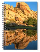 Barker Dam Pond Reflections Spiral Notebook