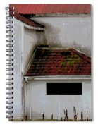 Barn - Geometry - Red Roof Spiral Notebook